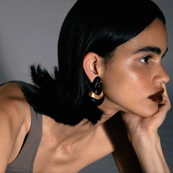 Vanda Jacintho Flow earrings