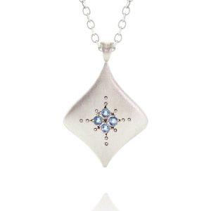 Adel Chefridi silver pendant $210