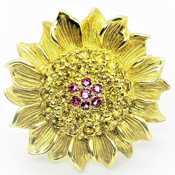 Alison Nagasue flower earring