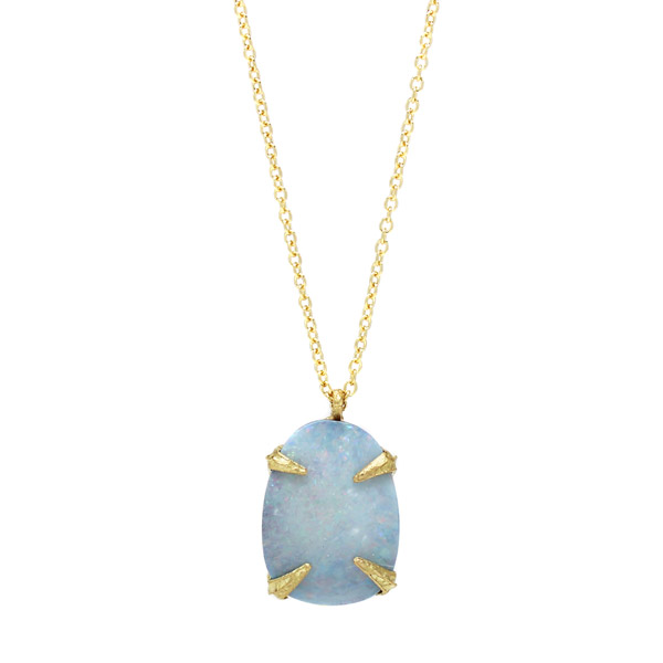 Amanda Hagerman opal pendant