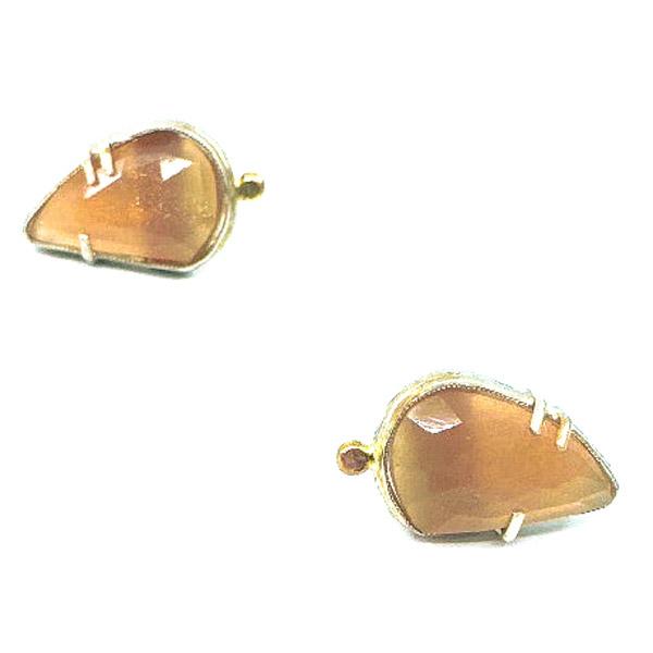 Amulet by D Hearts Open earrings