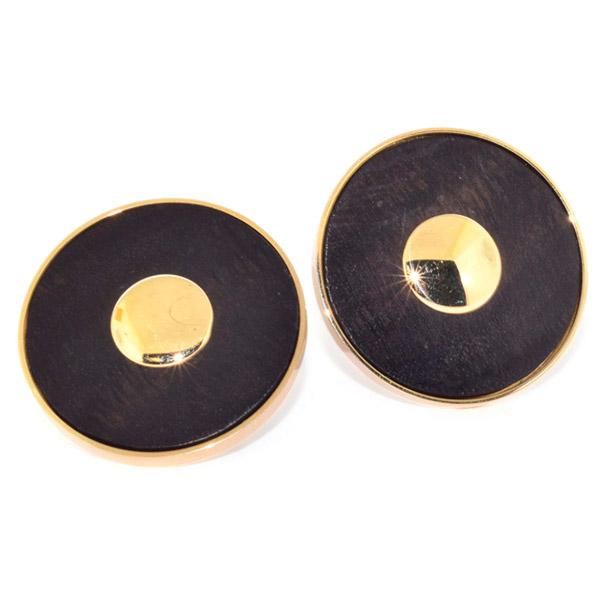 Antonia Miletto ebony earrings