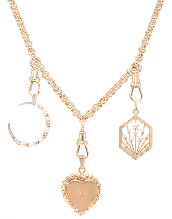 Ashley Zhang charm necklace