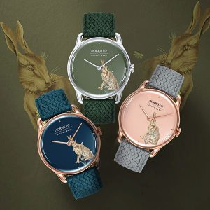 August Berg Morris Co Forest Hare watches