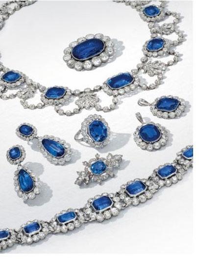 Christies sapphires