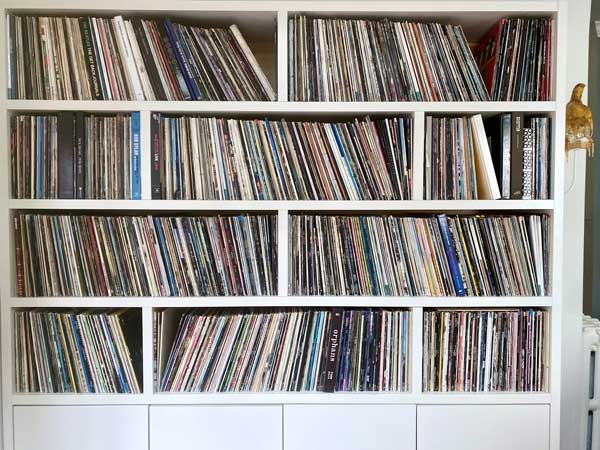 Danielle and Wades record collection