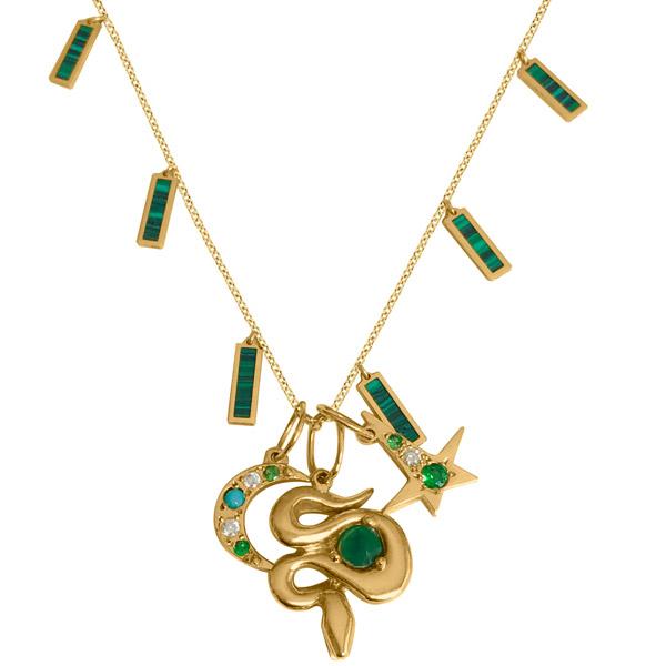 Delphine Leymarie charm necklace