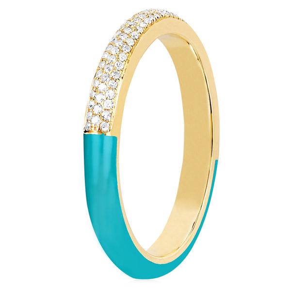 EF Collection enamel ring