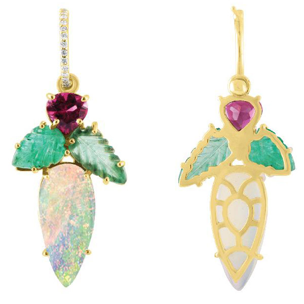 Eden Presley opal earrings