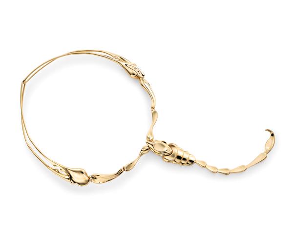 Elsa Peretti scorpion necklace