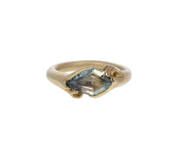 Fraser Hamilton sapphire and gold ring