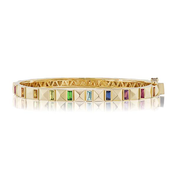 Harwell Godfrey gold bangle