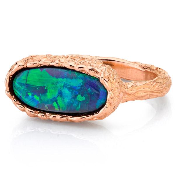 Kassandra Nicholson opal ring