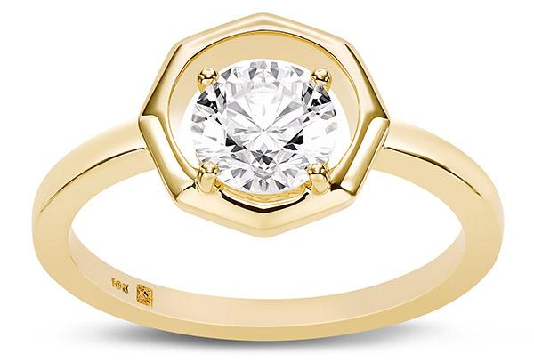 Lightbox Octagon 1ct ring