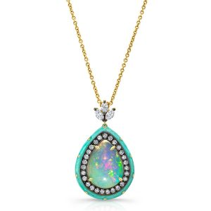 Lord Jewelry opal pendant