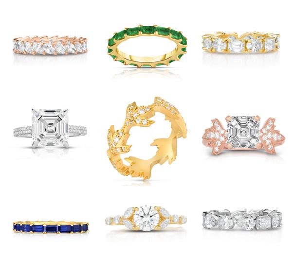 Marisa Perry rings
