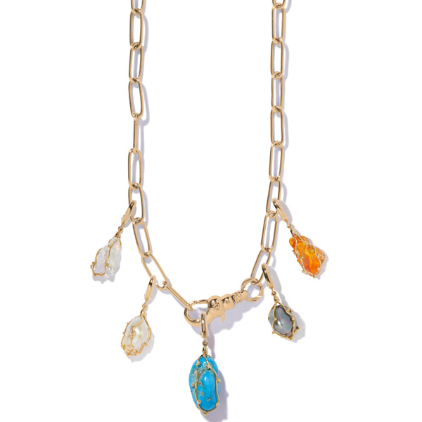 Milamore charm necklace