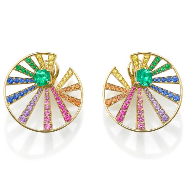 Muzo rainbow earrings