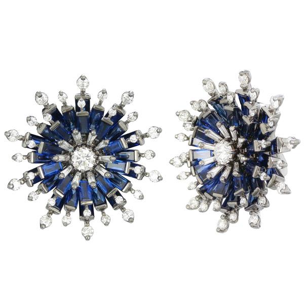Nam Cho sapphire earrings