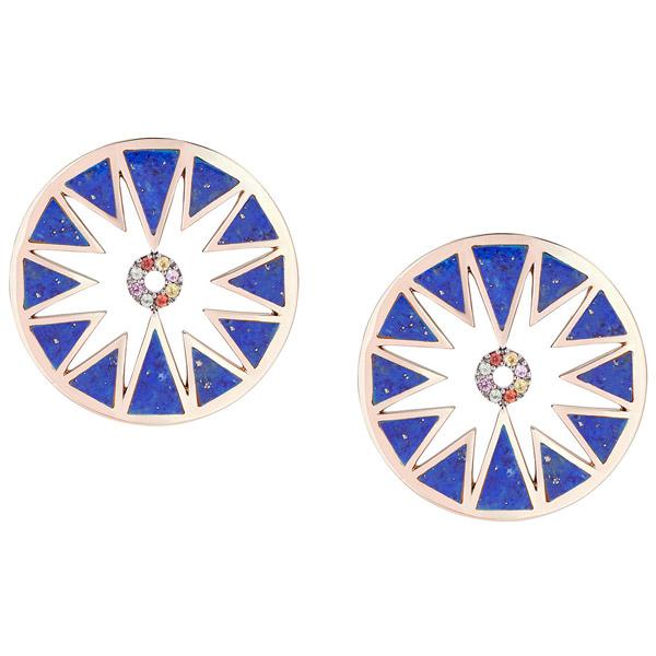 Samantha Tea Aura earrings