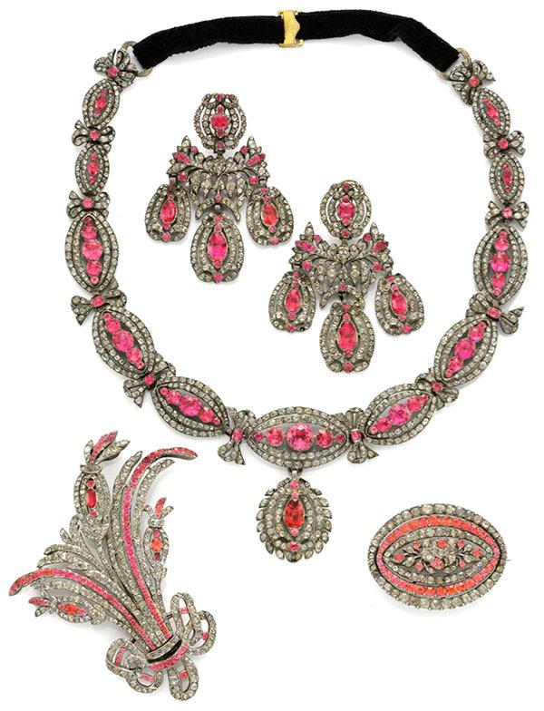 Simon Teakle Georgian Jewelry