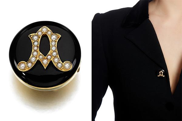 Sothebys Mountbatten button