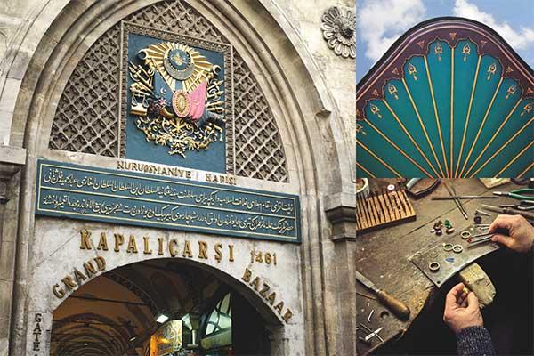 Stones of the Grand Bazaar architecture