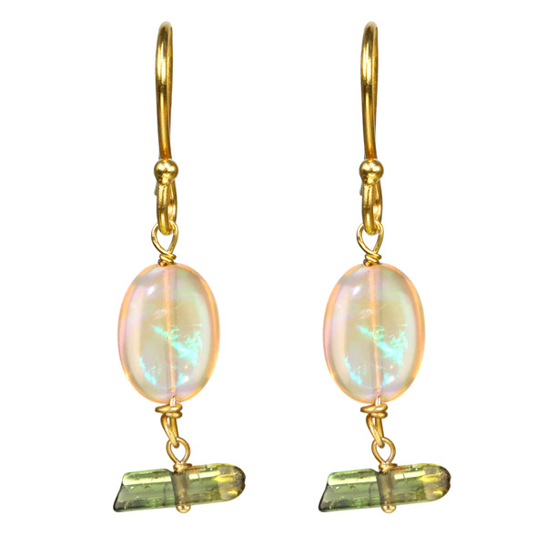 Stranded Jewels opal earrings