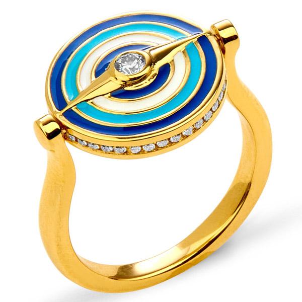 Syna Evil Eye ring