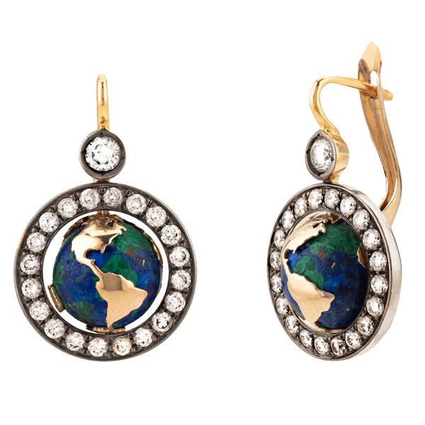 Venyx Earth earrings