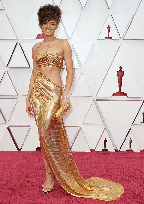 Andra Day 2021 Oscars