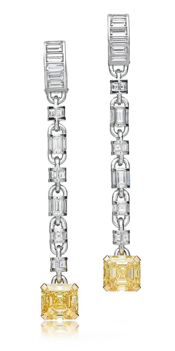Andra Day Tiffany earrings