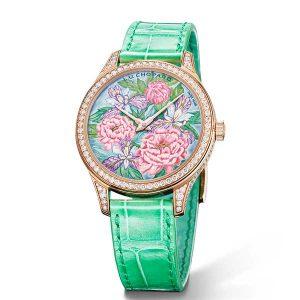 Chopard peony watch