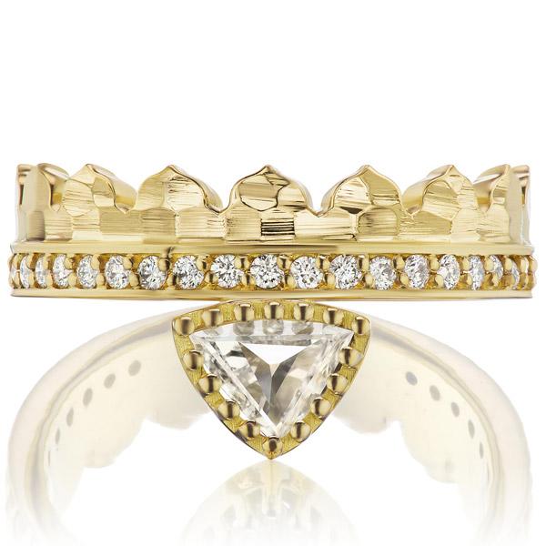 Dana Bronfman Agra Crown ring