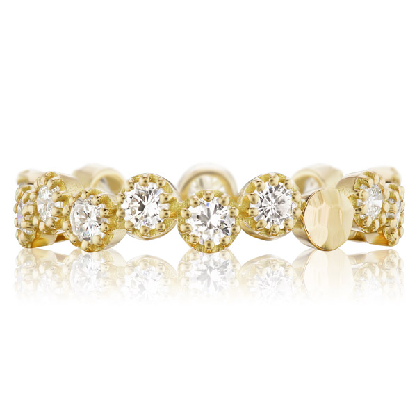 Dana Bronfman diamond bubble band