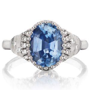 Dana Bronfman sapphire steps ring