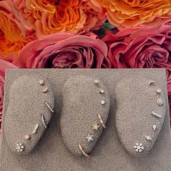 Dana Rebecca Stud Earrings