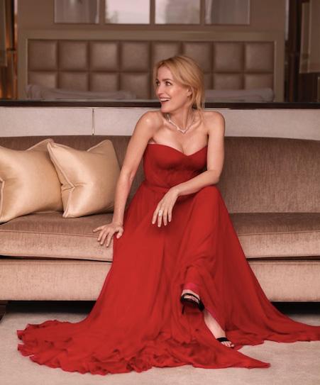 Gillian Anderson Chopard
