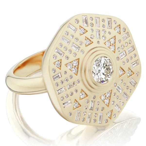 Harwell Godfrey Stardust cocktail ring