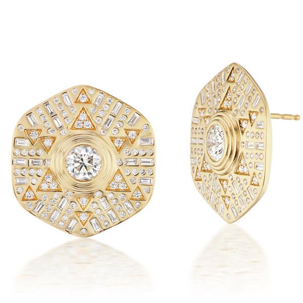 Harwell Godfrey Stardust earrings