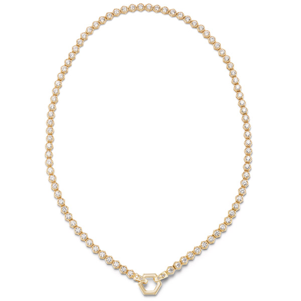 Harwell Godfrey diamond tennis necklace