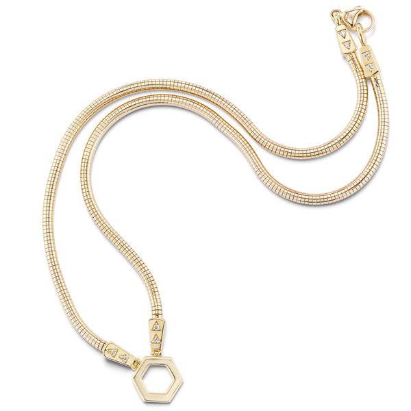 Harwell Godfrey gold necklace