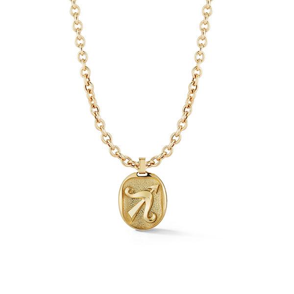 Jemma Wynne Sagittarius cable chain necklace