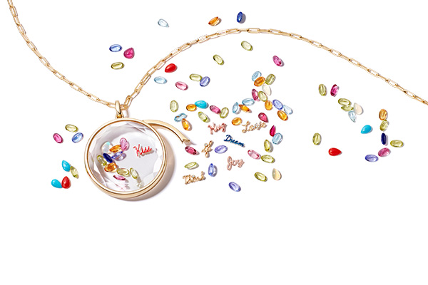 Loquet Best Feelings in the World charm options
