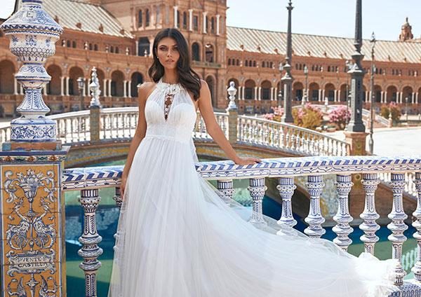 Marchesa for Pronovias 2021 gown