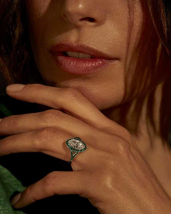 NDC diamond jewelry trends marquise cuts