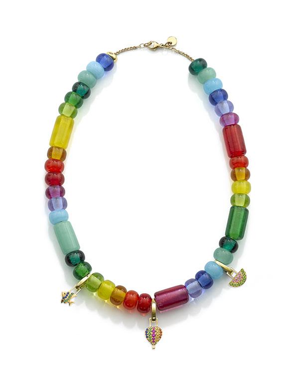 Robinson Pelham rainbow necklace