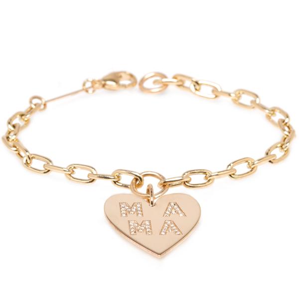 Zoe Chicco mama charm bracelet