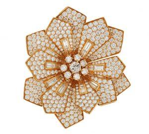 Bulgari diamond brooch