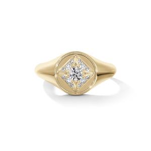 Forevermark Signet ring